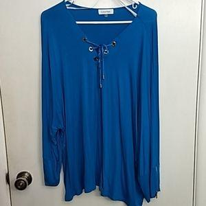 Calvin Klein Long sleeve Tunic top